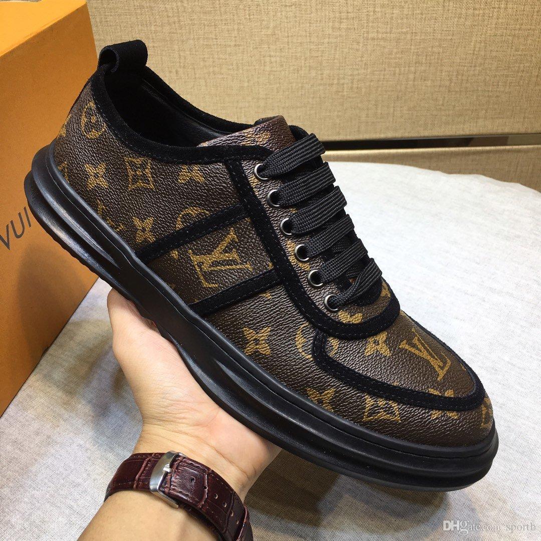 R6 высокое качество мода роскошь повседневная мужская обувь подходит для ленивого водителя наборы ног удобная и дышащая оригинальная упаковка коробки