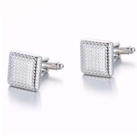 Üst Satış Kol Düğmeleri Klasik Kol Düğmeleri Gümüş Renk Manşetleri Düğün Loversşıkların Hediye Gemelos Manşet DropShip