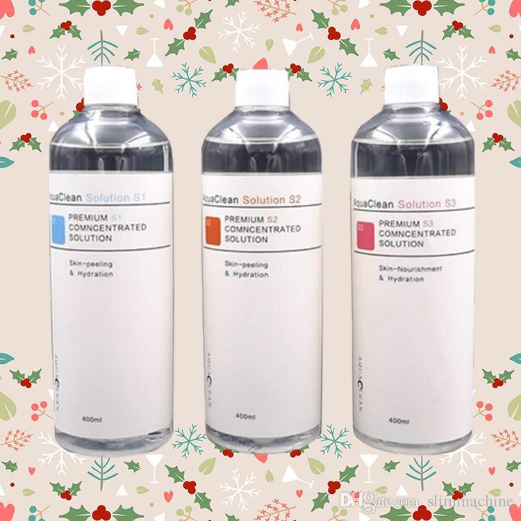 2019 nueva llegada del Aqua Peel solución concentrada de 400 ml por botella de Aqua Serum Facial Hydra Serum Facial Piel Normal y aguamarina solución limpia