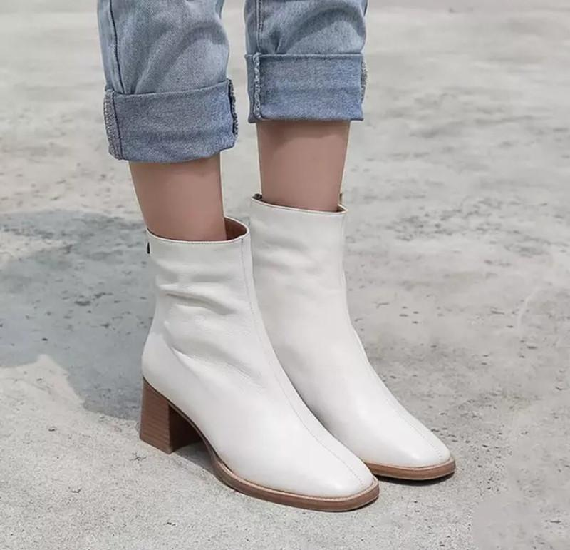 Hot Sale New Women Minori Leather Ankle