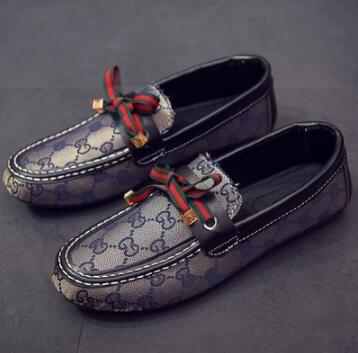 Nuevos zapatos de mujer impresos zapatos de guisantes zapatos casuales 3 colores EE. UU. 4-9 0802
