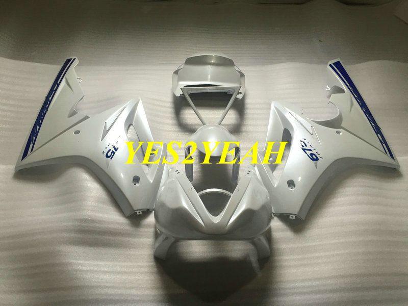 Carene Injection Body kit per Triumph Daytona 675 05 06 07 08 Carrozzeria DAYTONA675 2005 2008 ABS Kit carenatura bianca + Regali DA21