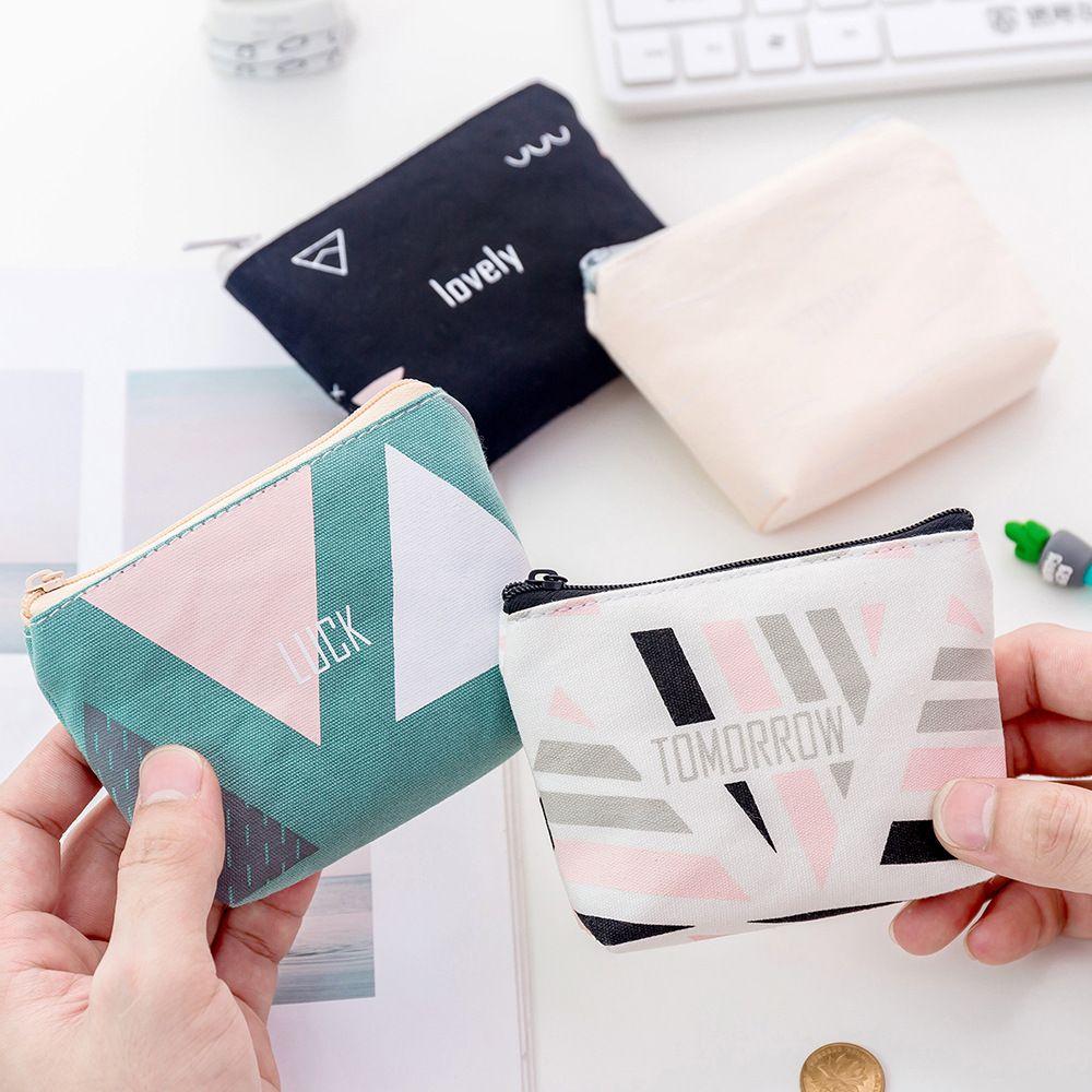 Coin Purse Rabbit Sculpture wallet change Purse with Zipper Wallet Coin Pouch Mini Size Cash Phone Holder