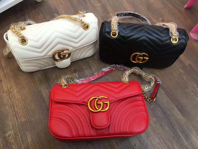 Livraison gratuite 2016 nouveau sac à main chaîne sac coque en cuir synthétique motif en croix Sac à bandoulière Messenger Bag Petit fashionista