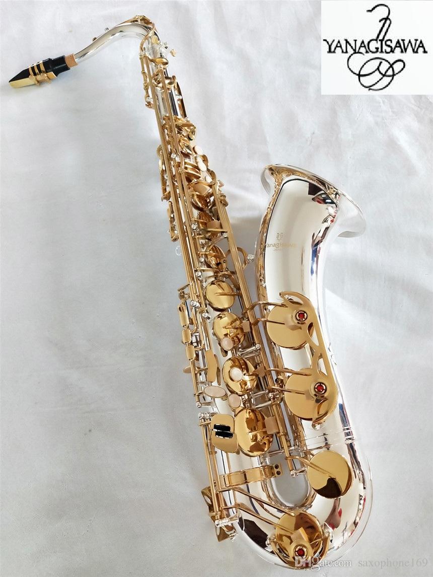 Brand NEW YANAGISAWA W-037 Sassofono tenore Placcatura in argento Chiave d'oro Professionale YANAGISAWA Bocchino per sax Super Play con custodia