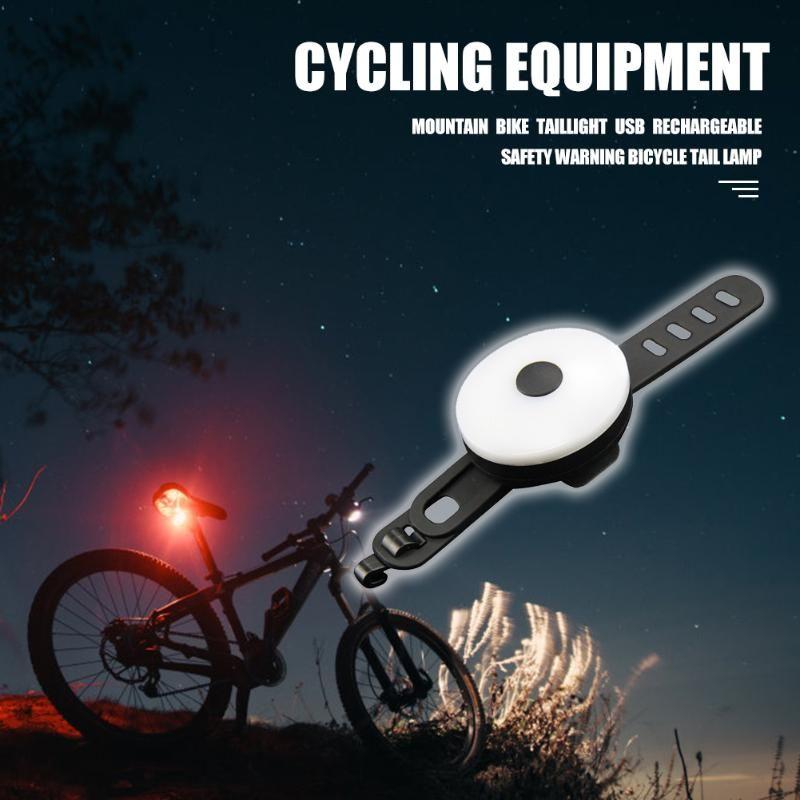 20lm Водонепроницаемый велосипед фары MTB велосипед задние фонари велосипед Велоспорт Taillight безопасности Предупреждение Light перезаряжаемый