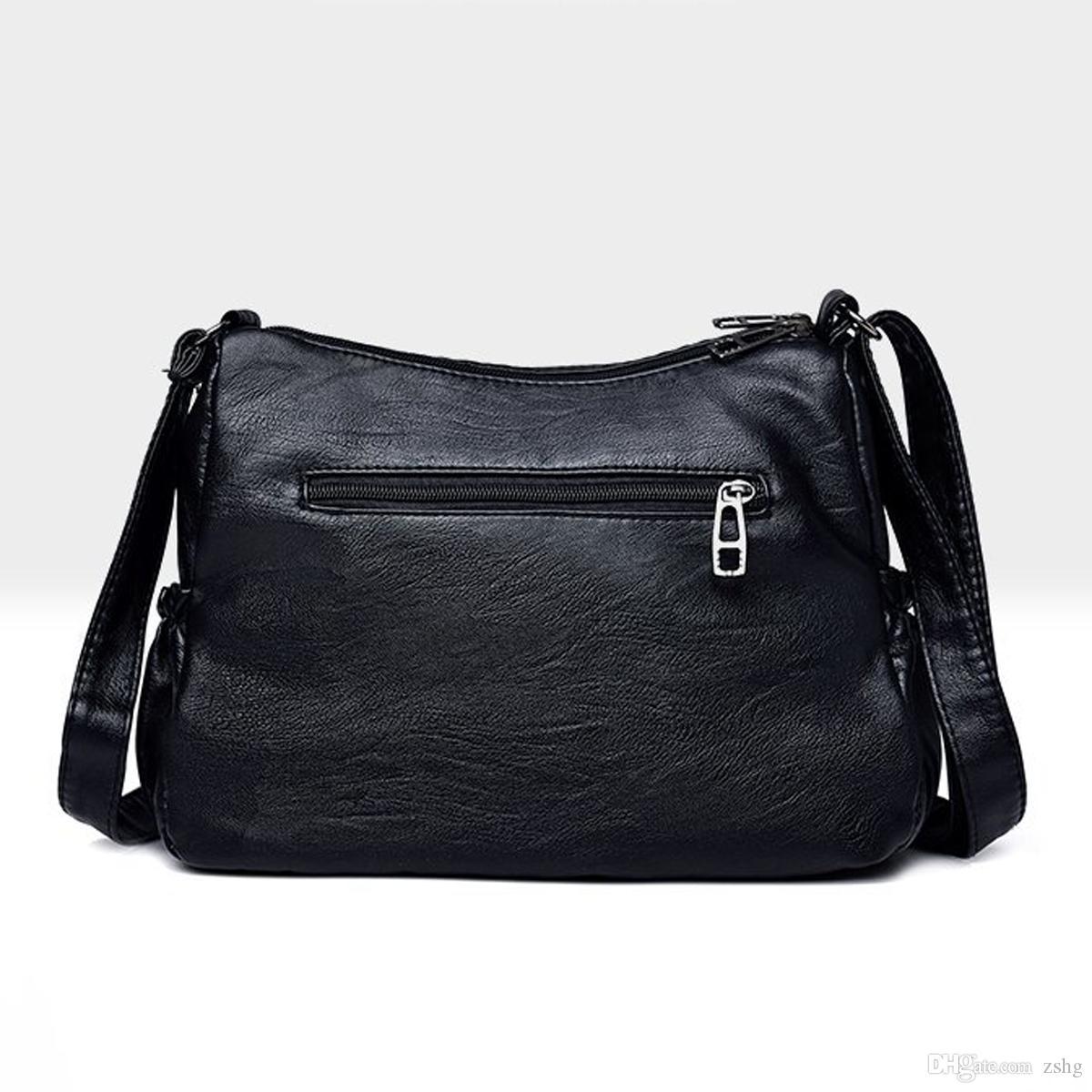 Borse Borse New Flap Tote Messenger Bags Designer Crossbody Borse a tracolla Donne Borsa da donna in pelle Borsa da donna Top-Handle VHFKH