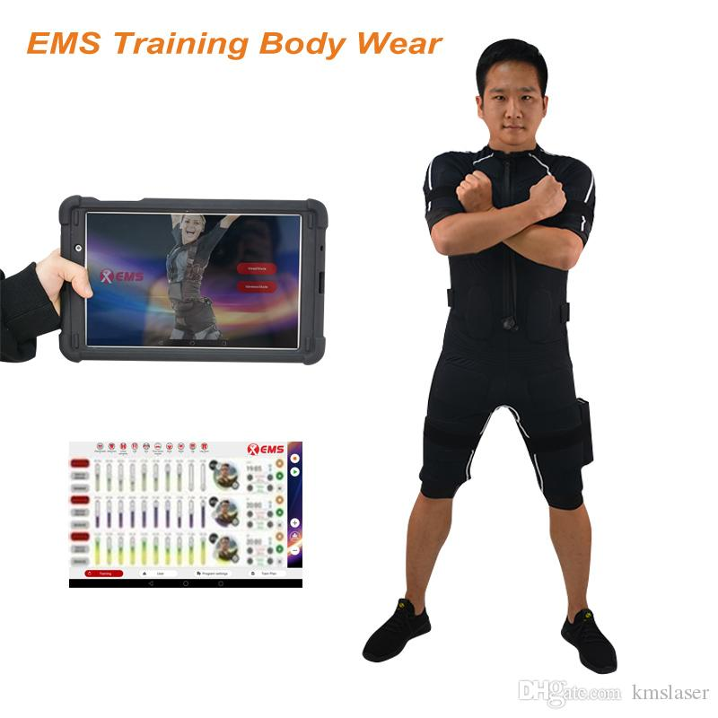 Yüksek Kaliteli Ems Zayıflama Sistemi Zayıflama İçin Spor Kullanımı Eğitimi Yelek Spor Makinesi Ems Kas Stimülasyon Ems Kablosuz