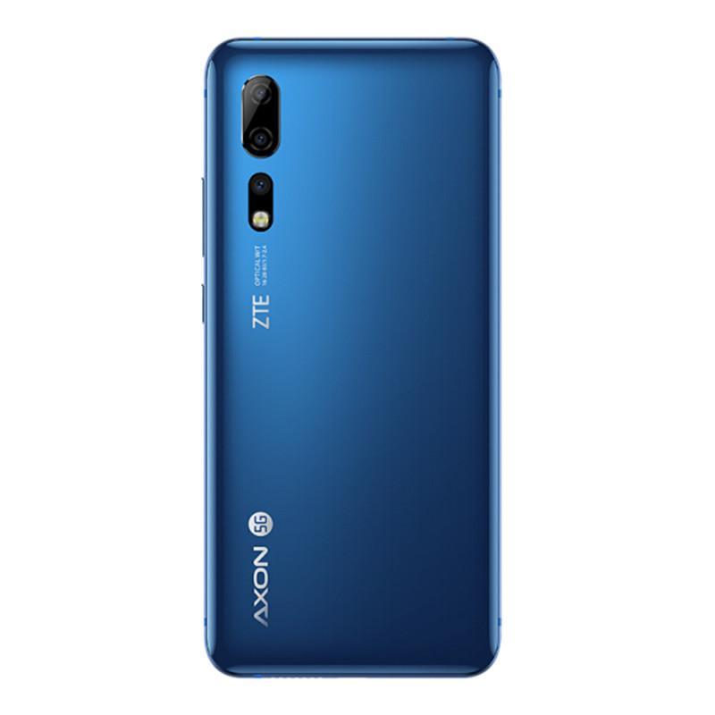 """الأصل ZTE أكسون 10 برو 5G LTE الهاتف المحمول 12GB RAM 256GB ROM أنف العجل 855 الثماني النواة الروبوت 6.47 """"الهاتف الخليوي 48MP بصمة ID الذكية"""