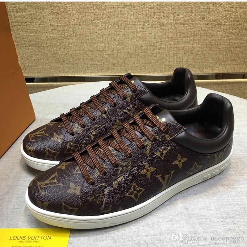 2020K Yeni moda tasarımcısı erkekler rahat ayakkabılar, orijinal kutusunda üst lüks tasarımcı erkekler rahat ayakkabılar, hızlı teslimat boyutu 38-45
