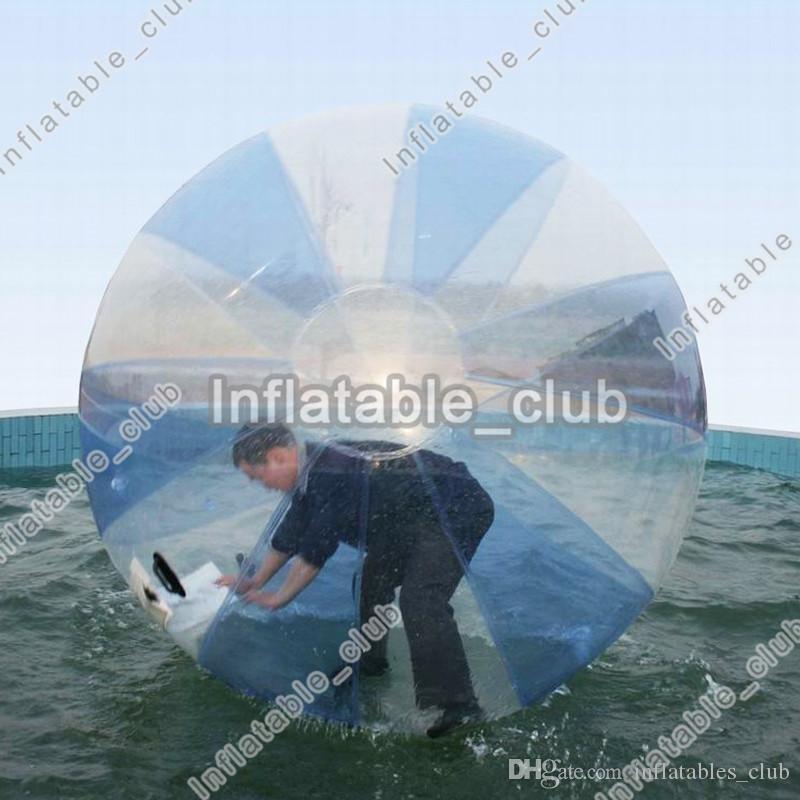 الشحن مجانا انخفاض سعر نفخ لعبة الكرة معدات المياه شعبية المشي على كرة الماء 2 متر القطر بكرة الماء الكرة للأطفال والكبار