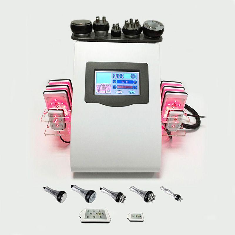 8 pcs lipo laser pad RF Rádio Frequência emagrecimento Lipoaspiração ultra-sônica Cavitação de perda de peso máquina de perda de peso reduz o equipamento de remoção de celulite