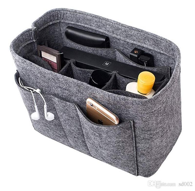Подгонянные войлочные внутренние косметические сумки желчного пузыря Multi функция Eco Feiendly хранение большой емкости скоростная сумка Сумка 16 7wn gg