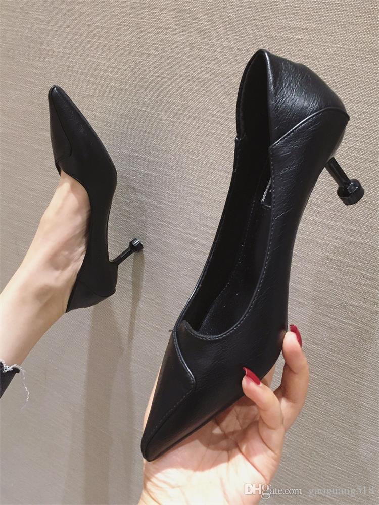 2020 женская обувь новой моды красные свадебные туфли заостренный носок туфли на высоком каблуке платье обувь