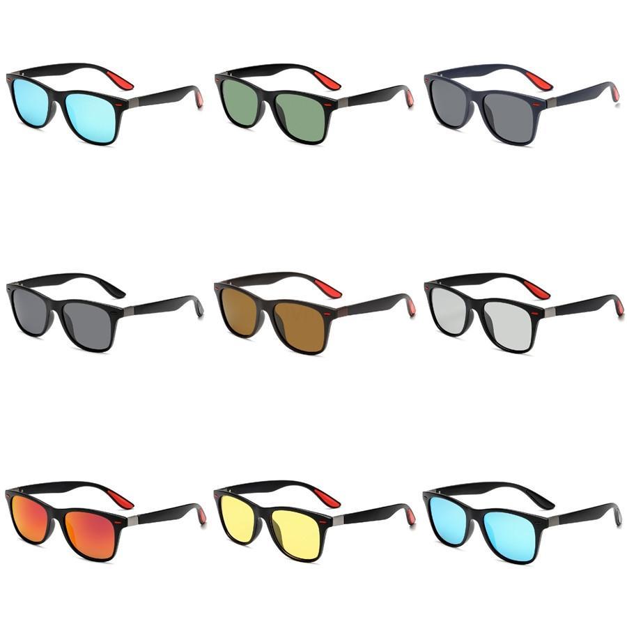 Hot Moda óculos de sol para homens e mulheres de meio aro dos óculos de sol 6 Estilo de néon dos óculos de sol frete grátis Designer Luxury Sunglasses-P (5803) # 96