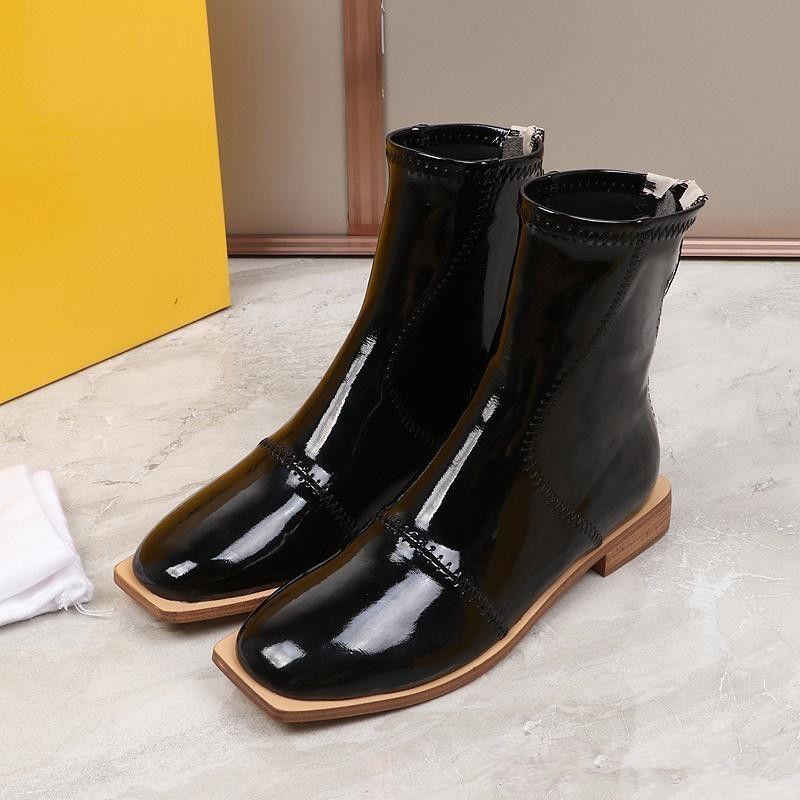 les 20 marque lastest Automne Hiver Martin Femmes Bottines Chaussures en gros botte de neige en cuir véritable bottes Botin BOTTINES