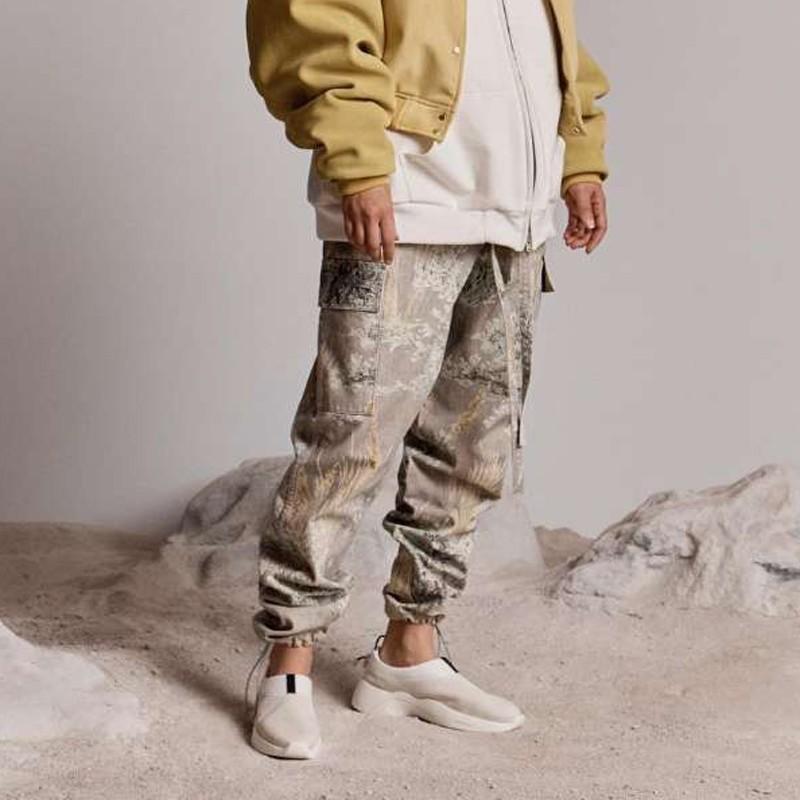 19SS Hip Hop StreetJIUJITSU PANTALÓN moda de la calle monopatín Casual Pantalones Hip Hop aptitud del deporte de pista pantalones pantalón HFYMKZ157