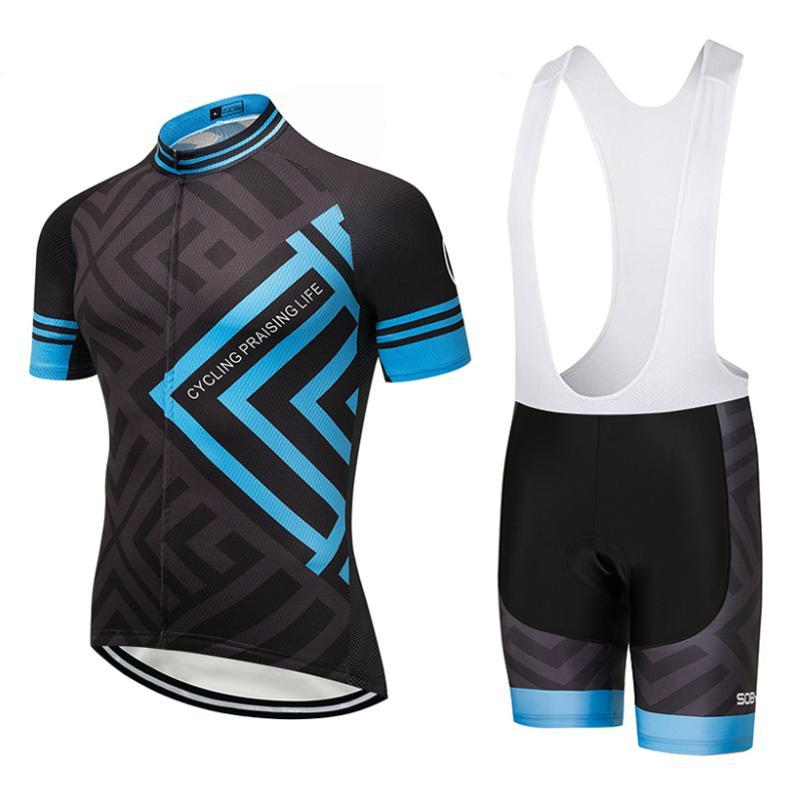 2019 Blue Frame cycling team jersey 9D gel pad bike shorts set sobycle MTB Ropa Ciclismo mens QUICK DRY bicycling Maillot wear
