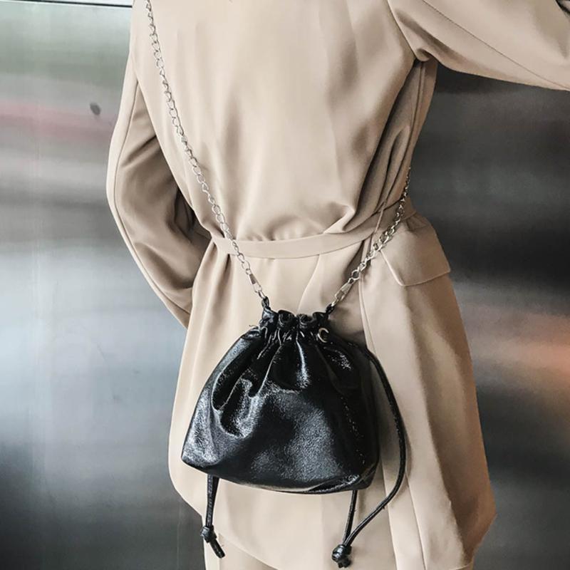 Neue Art und Weise Schulter-Frauen-Mode-wilde Diagonal Taschen Schultertasche Bucket Bag Bundle Tasche Retro Einfache Taschen * 1