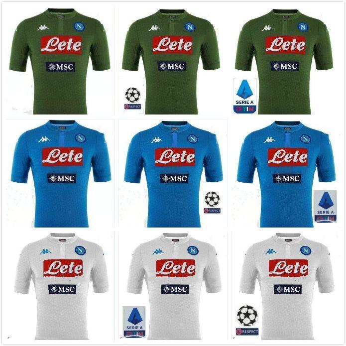 2019 Napoli Home Blue Soccer Jersey 19 20 Naples Away Camiseta De Futbol 2018 Personalizada 14 Mertens 17 Hamsik 24 Insigne 3er Uniforme De Futbol Por Ggg512 11 58 Es Dhgate Com