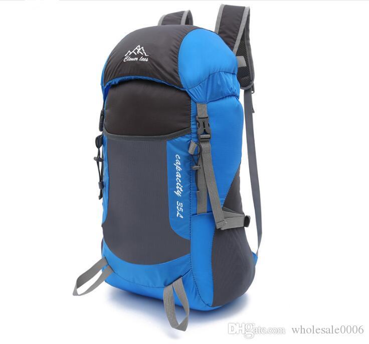 Mountain climbing folding bag ultra light foldable travel bag light portable shoulder outdoor climbing drawstring backpack designer fannypac