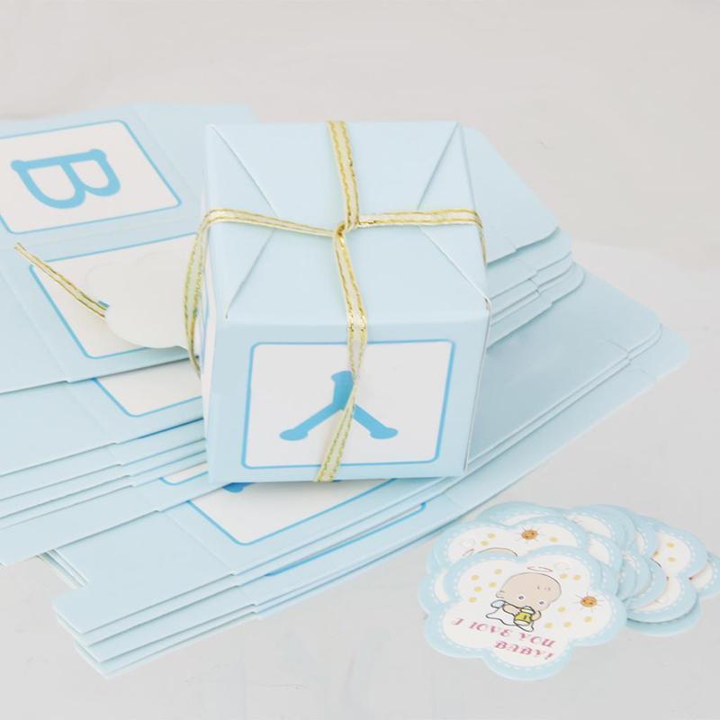 Baby Shower Boy Decoracion.Compre Pink Blue Candy Gift Boxes Para Girl Boy Baby Shower Favor De Cumpleanos Decoracion Para Ninos Cumpleanos Favor Y Caja De Dulces A 26 14 Del