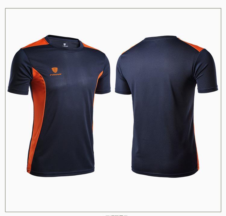 Hommes Designer Chemises à manches courtes Fitness Gym Courir Sport d'été T-shirt rapide Mode respirant sec Chemises New ArriveTop