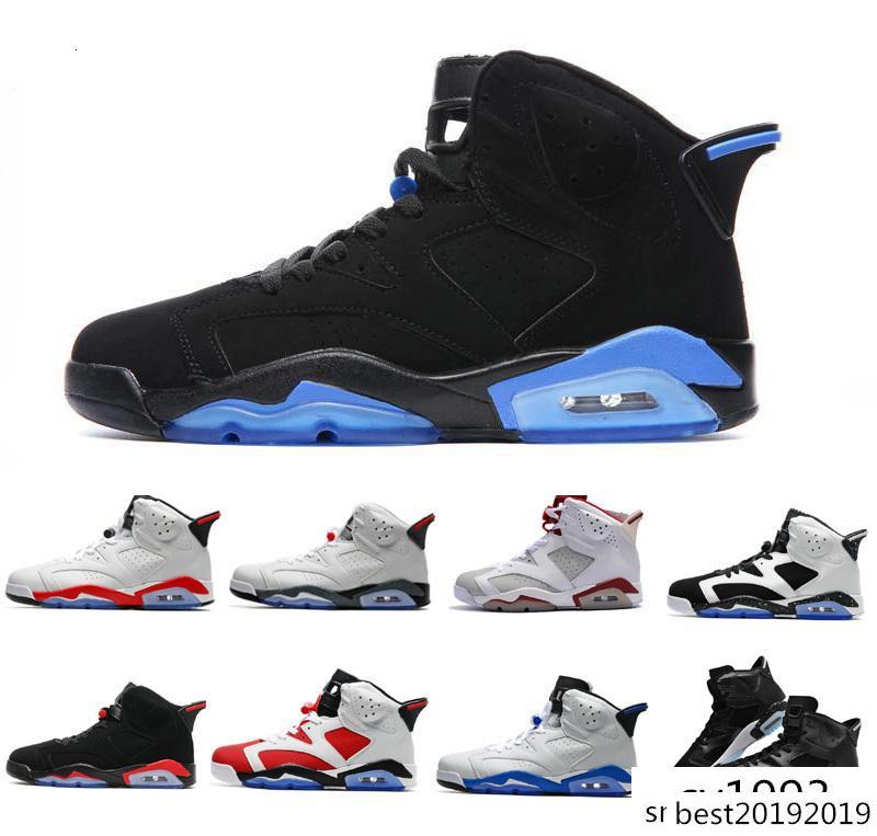 2020 AJ6 6 per infrarosso gatto nero Maroon Carmine Mens scarpe da basket 6s classici VI media di sport atletico delle scarpe da tennis
