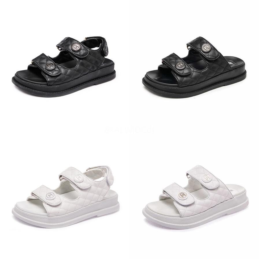 Frauen Sandalen Sommer Riemchen Gladiator beiläufige Leder-Ebene Knöchel Low Heel Flip Flops Strandschuhe Mode Schuhe Größe 34-40 # 156