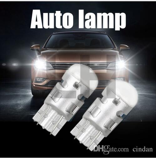 2 배 6000K 화이트 자동차 전구 3030 1SMD 자동 독서 주차 조명 Sidemarker Sidelight 램프 전구 T10 W5W Led 웨지