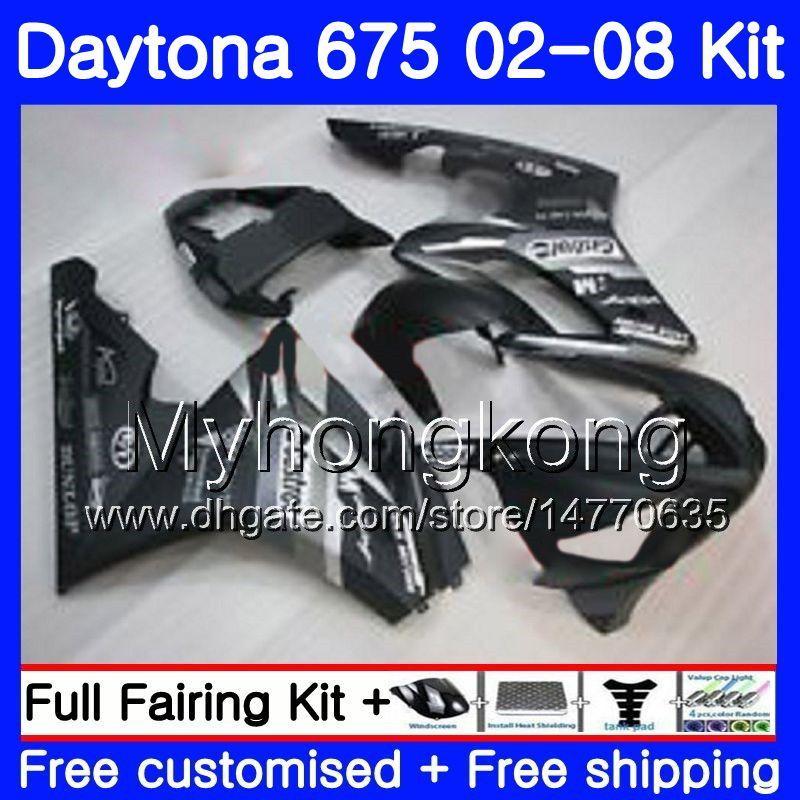Triumph İçin Vücut Daytona 675 02 03 04 05 06 07 08 Daytona675 322HM.1 Daytona 675 2002 2003 2004 2005 2006 2007 2008 fabrika siyahı Fairing