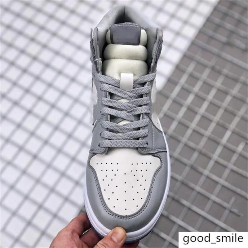 2020 nova Dor blique X AJ 1 sapatos altos com logotipo Homme X Kaws por Kim Jones calçados casuais tênis de basquete