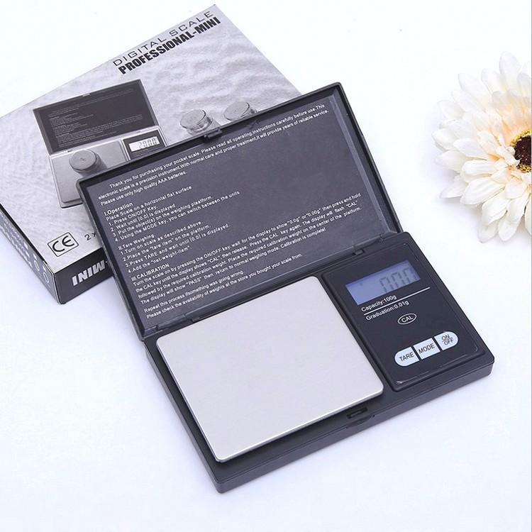 Mini Pocket Balance numérique Argent Monnaie Bijoux en or Pesez balance électronique numérique LCD Bijoux Échelle d'équilibre