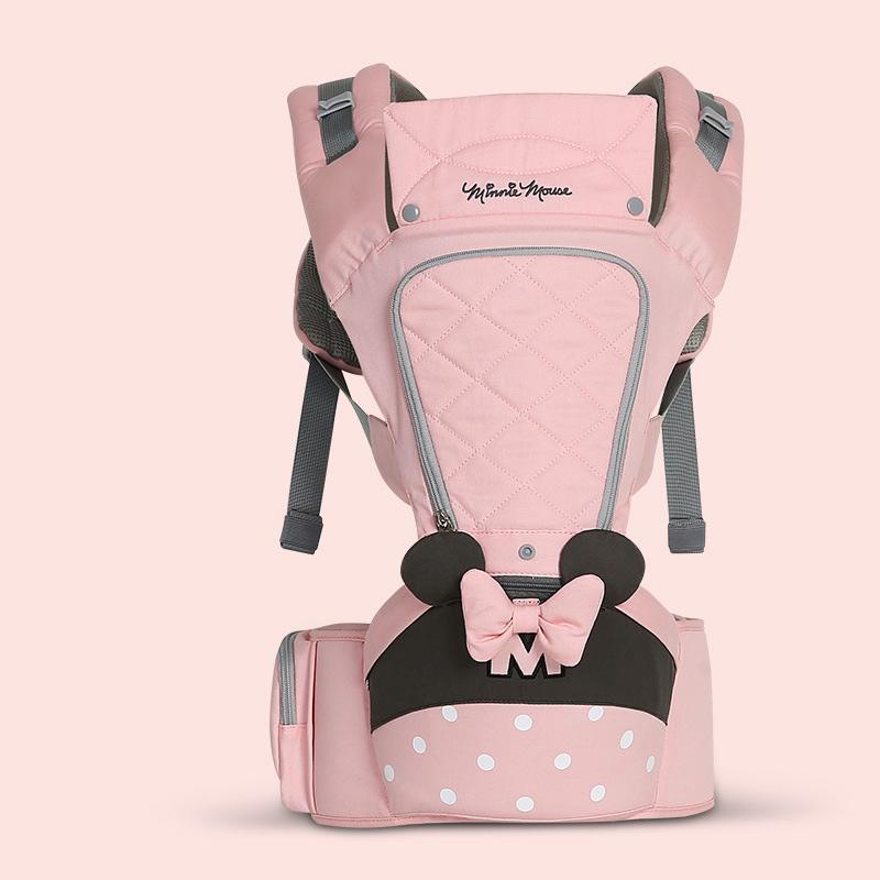 0-36 Meses Arco Transpirable Frente Carro de Bebé Hipseat 20 kg Infantil Cómodo Sling Mochila Bolsa Portadora Envoltura