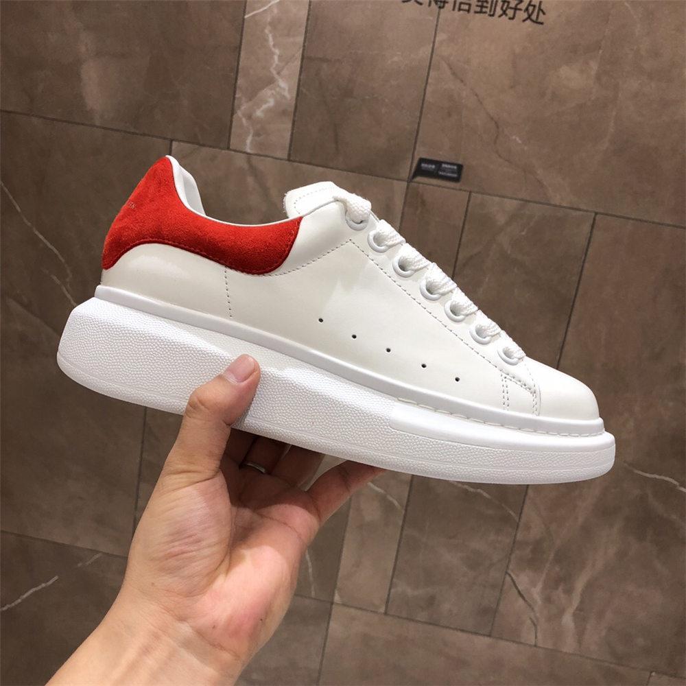 2019 hommes multi-couleurs et des femmes chaussures de sport en cuir de luxe hommes de la mode et les chaussures entraîneur ont augmenté chaussures