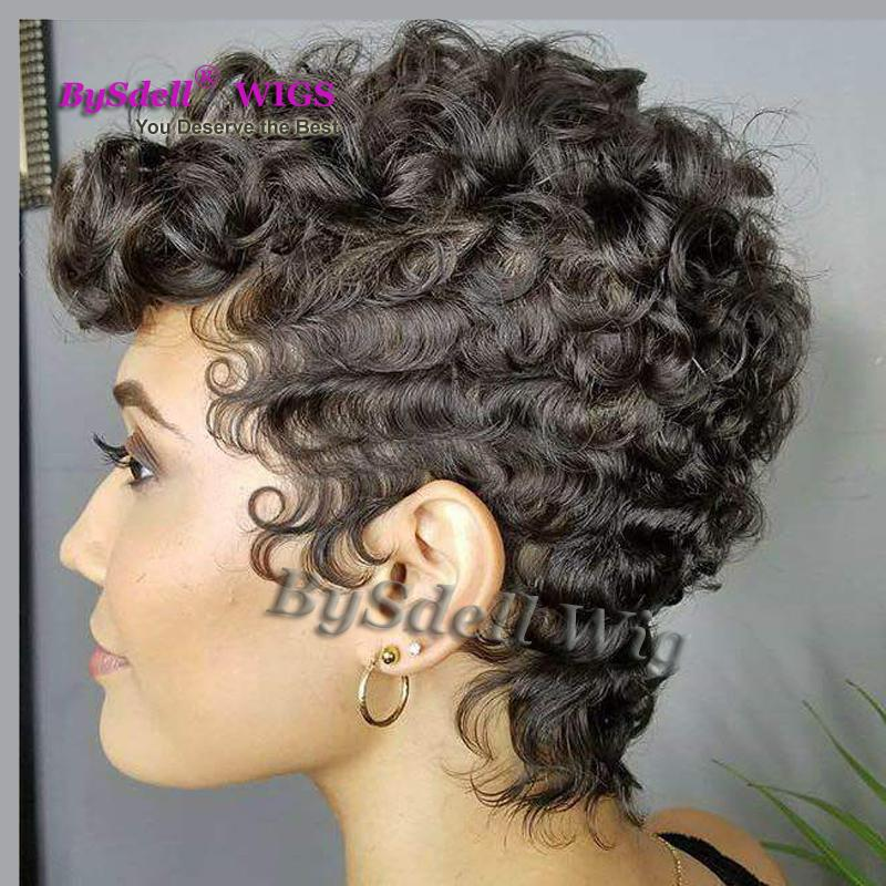 Premium Super Short Hair Wig Synthetic Short