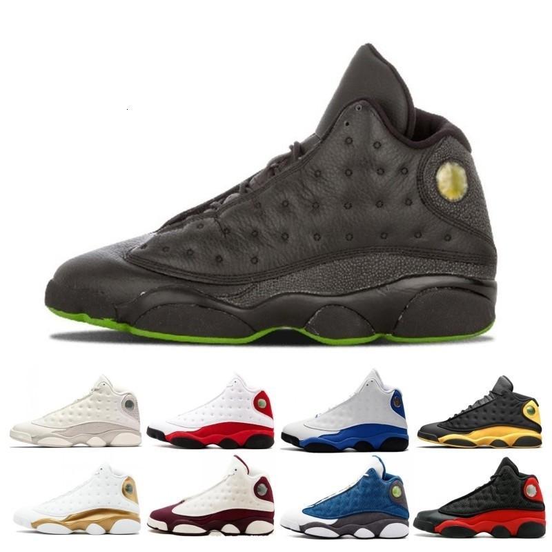 Баскетбольная обувь 13 13s мужчины он получил игру Melo класс 2002 Черная кошка разводят Чикаго Фантом плей-офф Мужские спортивные кроссовки размер 41-47
