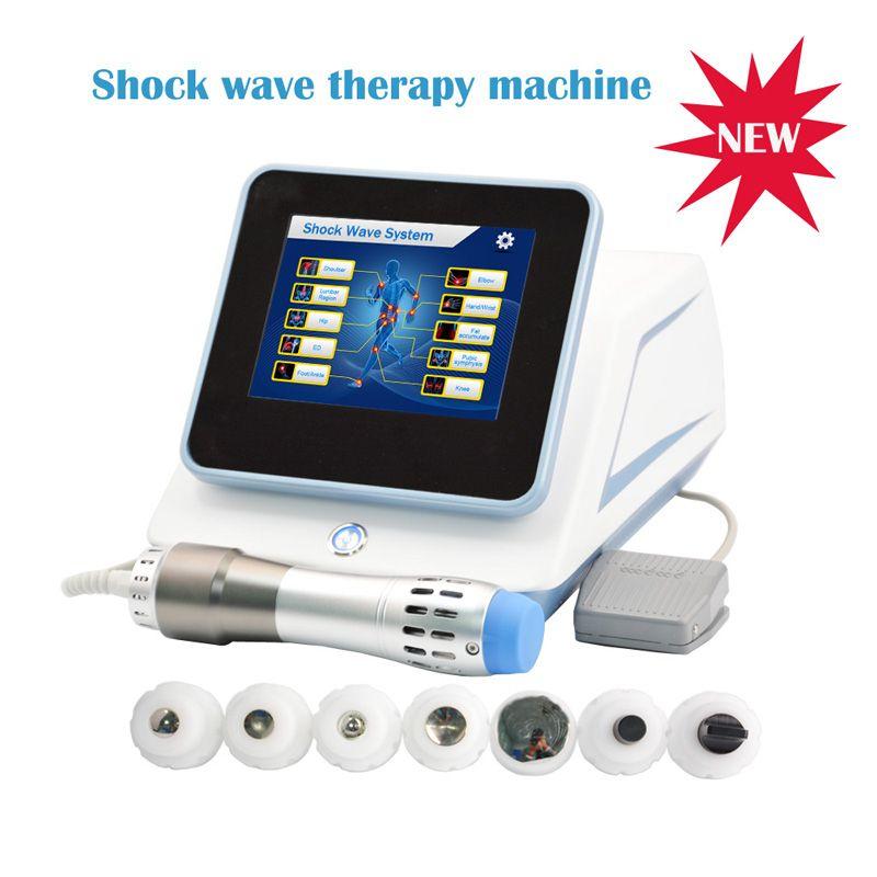 Gainswave ED tedavisi için taşınabilir fizik tedavi şok dalgası sırt ağrısı boşaltma şok dalgası / Elektromanyetik radyal şok dalgasını SW6S