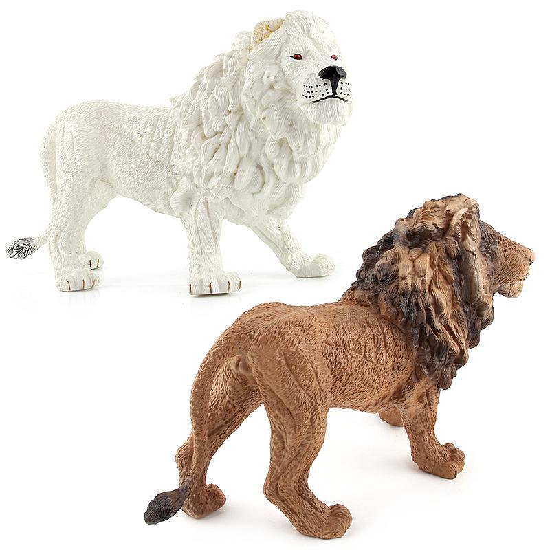 English Details Animal Paradise Wild Animal Garage Kit Model Toy Plastic Forest Animal Decoration Doll