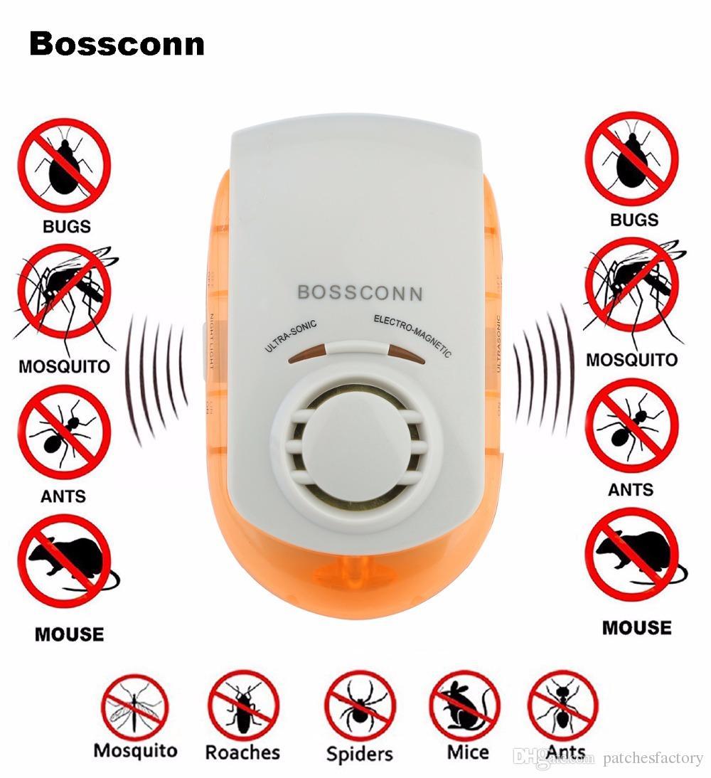 EU 플러그 홈 스토어 호텔 안티 모기 구충제 킬러 전자 해충 컨트롤 초음파 거부 마우스 US / EU / UK 플러그