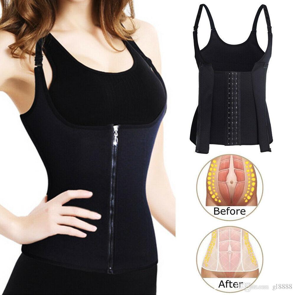 المرأة مطاطا المشكل الجسم Shapewear الكورسيهات تشكيل بلايز الخصر التدريب سترات واقية Shapewear S-3XL