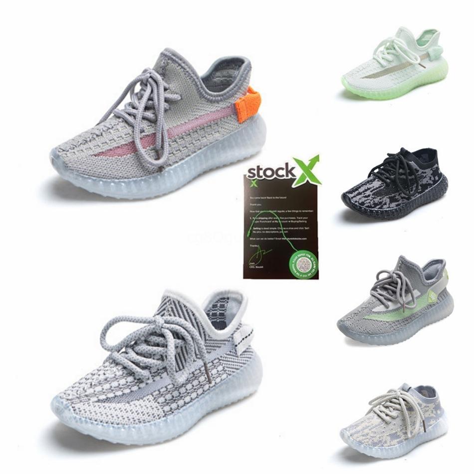 Kanye West argila infantil 72 Criança crianças Running Shoes estáticos Gid Sports Verter Bebés Meninos Meninas sapatilhas ocasionais # 205