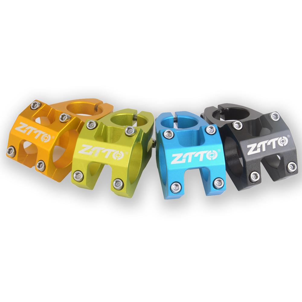 Attacco manubrio ZTTO enduro ad alta resistenza 45mm leggero 31,8 mm lavorato a CNC per bici da mountain bike XC AM MTB