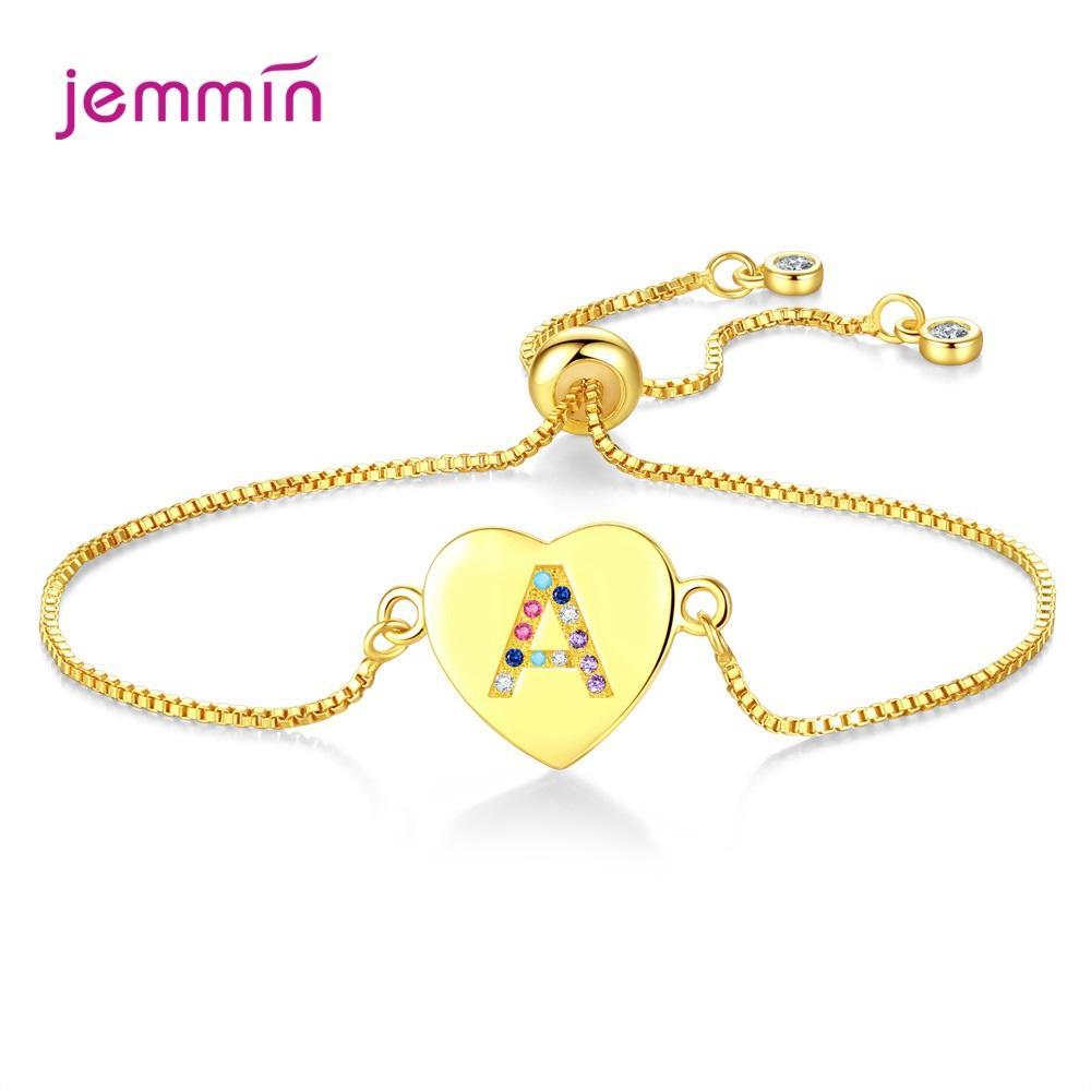 Boutique de mariée nouvelles femmes 925 strass argent sterling Bracelet extensible Bracelets bijoux Pulsera Mujer gros