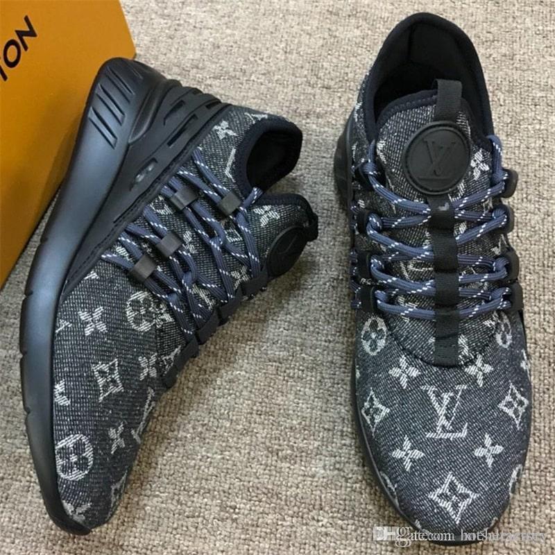 Luxus-Mann-Turnschuh-Schuhe Herren Schuhe Mode Schuhe Sneaker Breathable Design mit Original-Box Chaussures Hommes