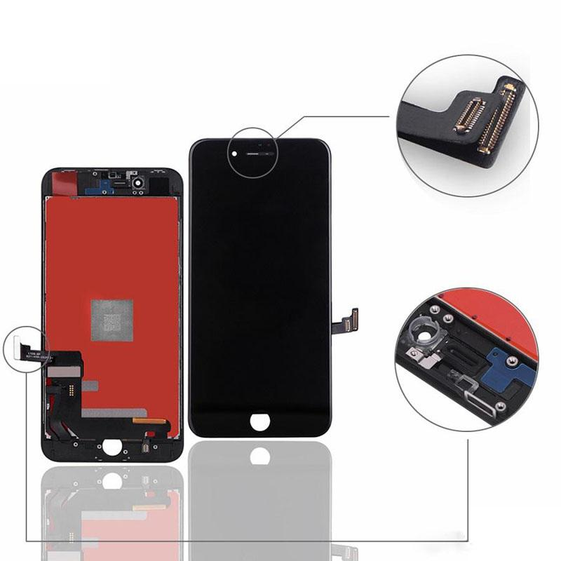 شاشة تعمل باللمس OEM للحصول على 8 زائد العرض LCD إصلاح الجمعية محول الأرقام أجزاء العلامة التجارية الجديدة لا الميت بكسل