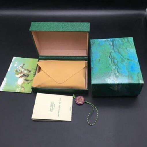 2020 Inicio de lujo para hombre Para relojes de madera del reloj original de la caja interior exterior Mujer de relojes Cajas Papeles regalo del bolso de los hombres de pulsera box 1653