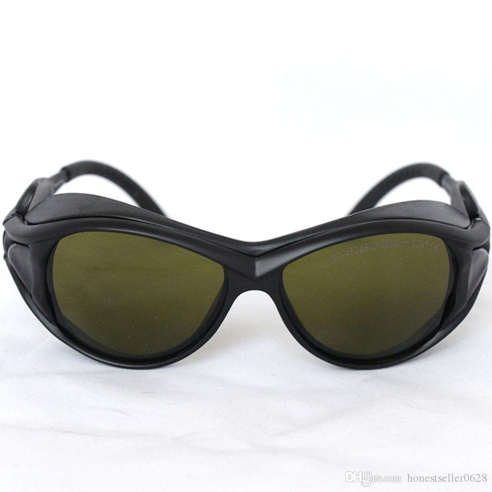 ديود ليزر واقية حملق ، نظارات حماية السلامة ، 200-460nm810-2000nm OD5 الامتصاص المستمر لضبط المسار البصري ، وشم R