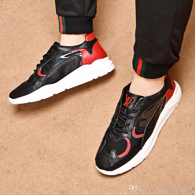 2019 новые высококачественные модные мужские спортивные туфли с уличной спортивной обуви на открытом воздухе спортивная обувь Chaussures de course комфортно дышащая QT