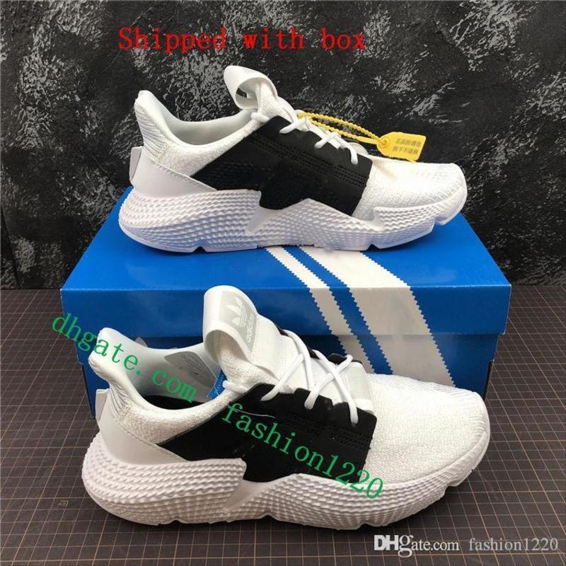 Los originales de alta calidad Prophere Climacool EQT 4S Cuatro generaciones de calzado deportivo torpe zapatos corrientes de los zapatos ocasionales negro Tamaño 40-45